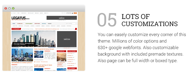 Legatus - Responsive News/Magazine Theme Download