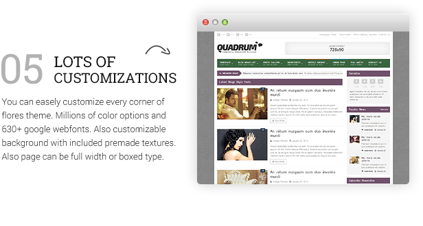 Quadrum - Multipurpose News&Magazine Theme