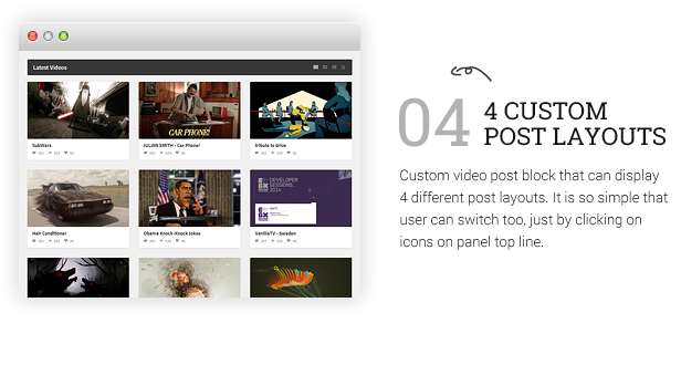 VideoMag - Powerful Video HTML Template